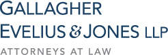 Gallagher Evelius & Jones Logo
