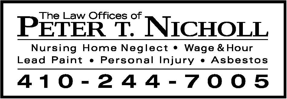 Law Offices of Peter T. Nicholl Logo